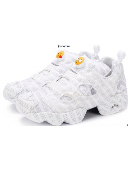 VETEMENTS Кросcовки Vetements x Reebok Logo Instapump Fury