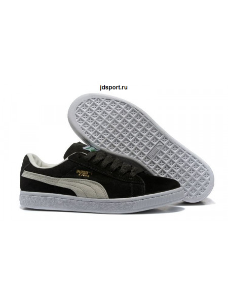 Puma Suede Classic (Black/White)