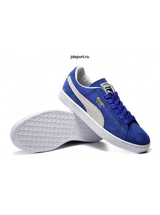 Puma Suede Classic (Blue/White)