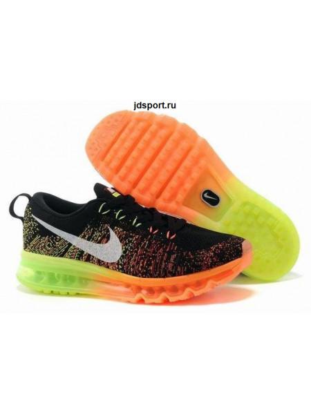 Nike Air Max Flyknit (Black/Orange/Volt)