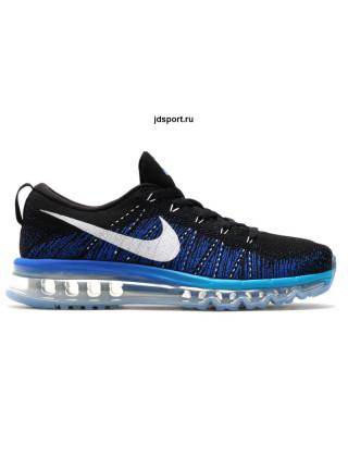 Nike Air Max Flyknit (Black/Blue)