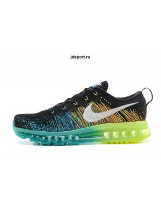 Nike Air Max Flyknit (Black/Green)