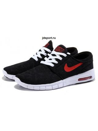 Nike Stefan Janoski Max (Black/Red)