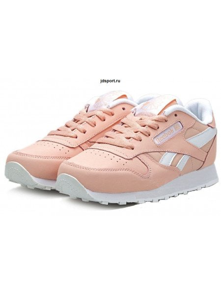 Reebok Classic Leather (Light Pink/White)