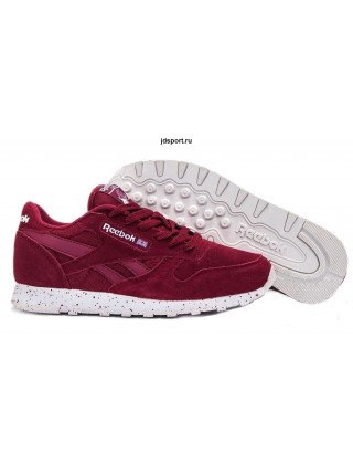 Reebok Classic Suede (Burgundy/White)