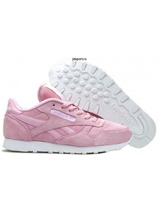 Reebok Classic Suede (Pink/White)