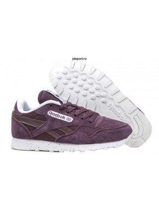 Reebok Classic Suede (Purple/White)