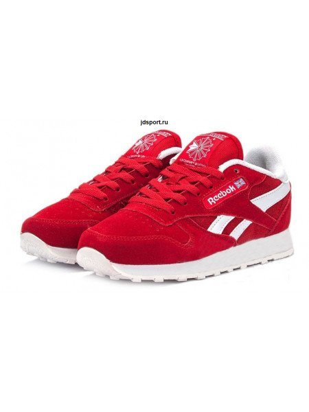Reebok Classic Suede (Red/White)