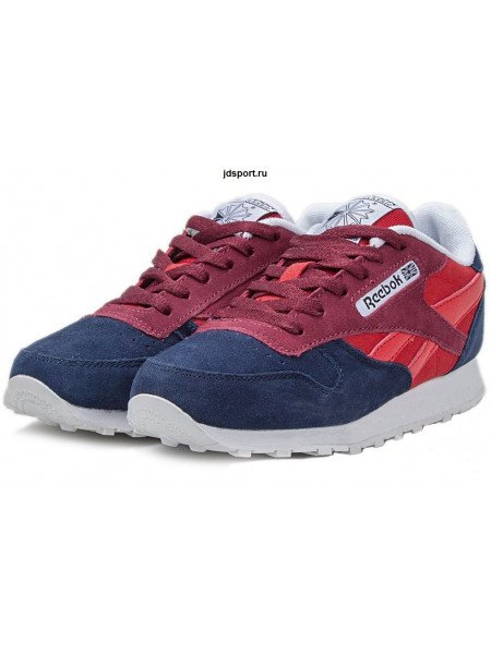 Reebok Classic (Dark Blue/Burgundy-Red)