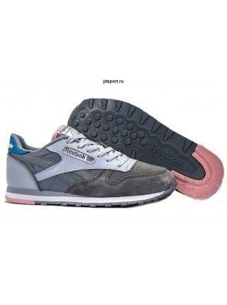 Reebok Classic (Grey/Light Grey/Pink)