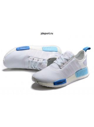 Adidas NMD Runner Primeknit (White/Blue)