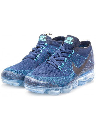 Nike Air VaporMax Flyknit (Blue/Black)