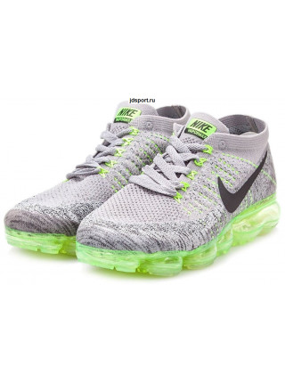 Nike Air VaporMax Flyknit (Grey/Green)