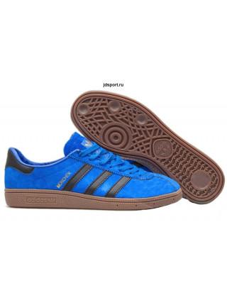 Adidas Munchen x Size (Blue/Black)