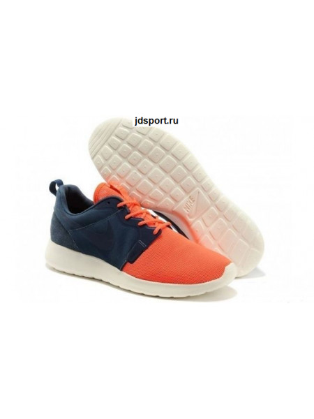 Nike Roshe Run Hyperfuse QS (blue/orange)