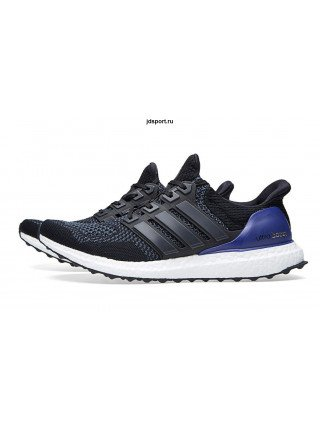 Adidas Ultra Boost 3.0 (Black/Blue)