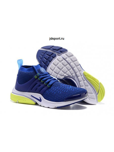 Nike Air Presto Flyknit Ultra (Blue/Yellow)