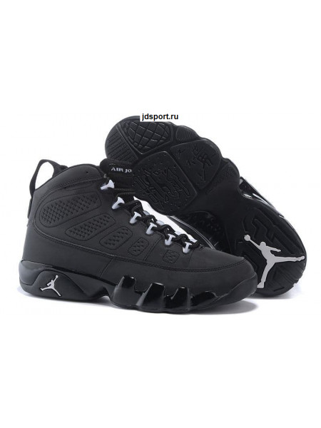 "Air Jordan 9 Retro ""GS Anthracite"" (White/Black)"