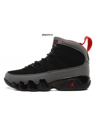 Air Jordan 9 Retro (Black/Varsity Red/Dark Charcoal)