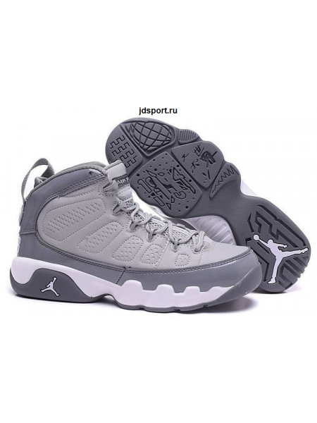 Air Jordan 9 Retro (Cool Grey/White)
