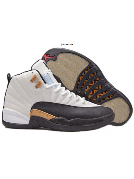 "Air Jordan 12 Retro ""Chinese New Year"" (White/Black/Light Orewood/Brown)"