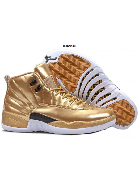 "Air Jordan 12 Retro ""Pinnacle"" (Gold)"