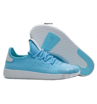 Adidas x Pharrell Williams Tennis Hu (Blue/White)