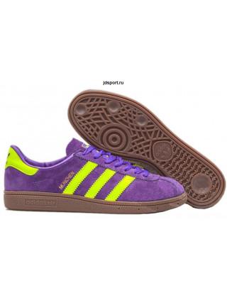 Adidas Munchen (Purple/Yellow)