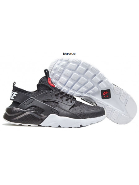 Nike Air Huarache Ultra Premium GS (Black/University Red/White)