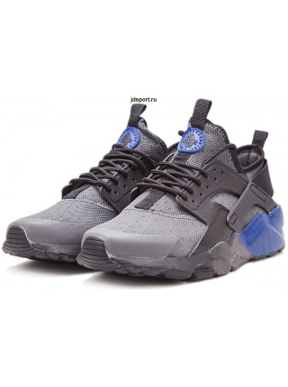 Nike Air Huarache Ultra Premium GS (Black/Wolf Grey/Navy Blue)