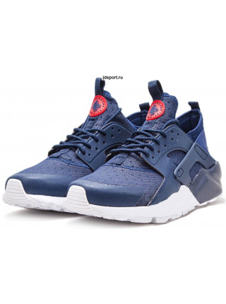 Nike Air Huarache Ultra Premium GS (Navy Blue/University Red/White)