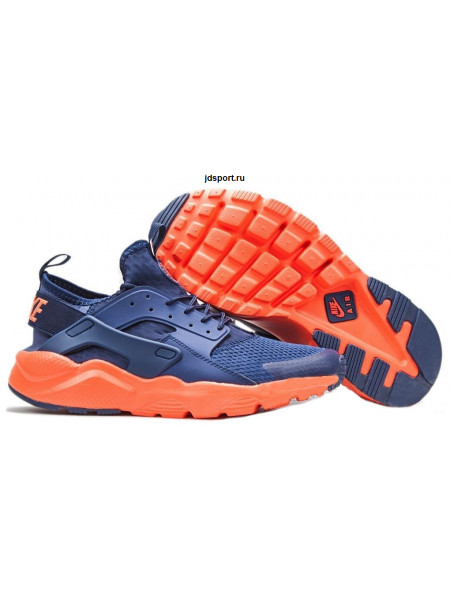 Nike Air Huarache Ultra BR (Dark Blue/Navy/Solar Red)