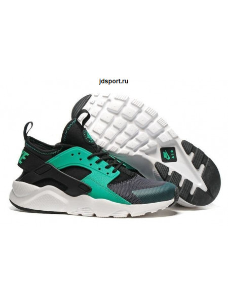 Nike Air Huarache Ultra BR (Dark Grey/Green/White)
