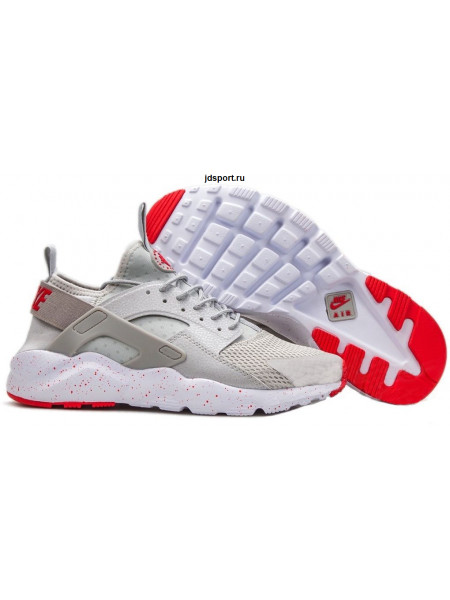 Nike Air Huarache Ultra BR (Siver Grey/University Red)