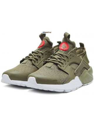 Nike Air Huarache Ultra Premium GS (Cargo Khaki/Light Bone/White)