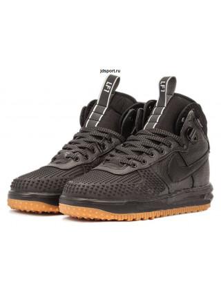 "Nike Lunar Force 1 ""Duckboot"" (Black/Black Metallic)"