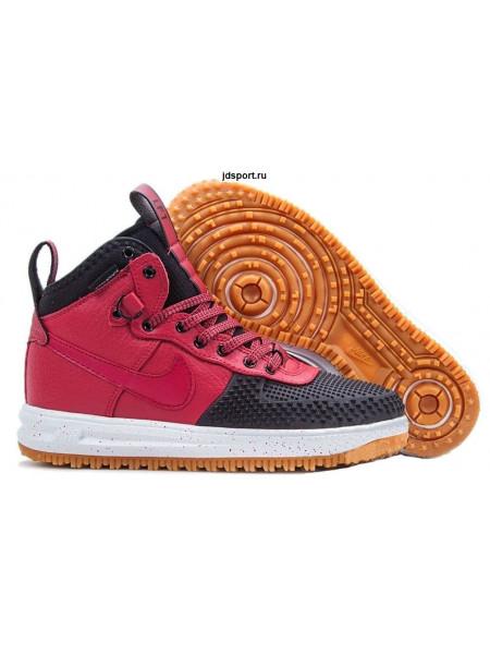 "Nike Lunar Force 1 ""Duckboot"" (Black/White/Team Red)"