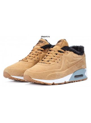 "Nike Air Max 90 Vac Tech ""With Fur"" (Haystack/Birch)"