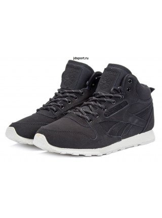 "Reebok Classic High ""With Fur"" (Black/White)"