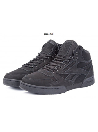 "Reebok Classic High ""With Fur"" (Triple Black)"