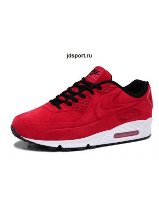 Nike Air Max 90 VT With Fur (Red/White)