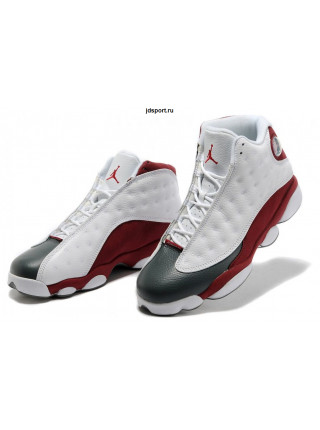 Air Jordan 13 Retro (White/Team Red-Flint/Grey)