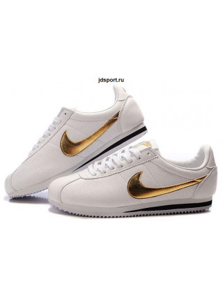 Nike Cortez (White/Gold)