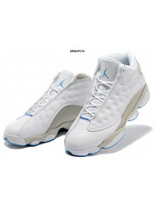 Air Jordan 13 Retro (White/Neutral Grey/University Blue)
