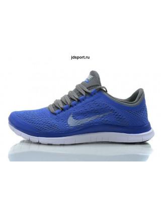 Nike Free Run 3.0 V5 (Blue/Dark Grey)