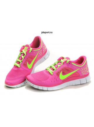 Nike Free Run 5.0 V3 (Pink/Green)