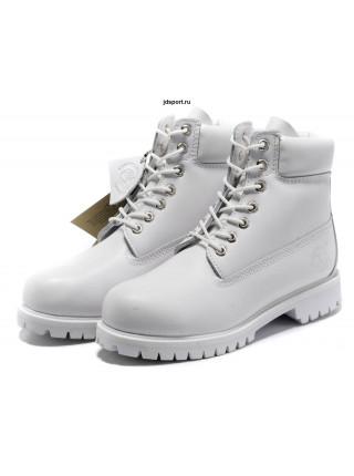 Timberland 6 Inch Premium Waterproof Boots (Ghost White)