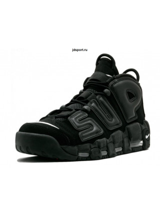 Supreme x Nike Air More Uptempo (Black)