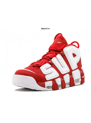 Supreme x Nike Air More Uptempo (Red)
