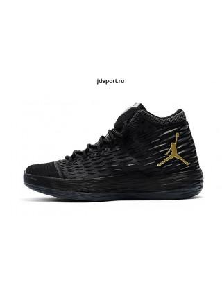 Air Jordan Melo M13 (Black Metallic/Gold Anthracite)